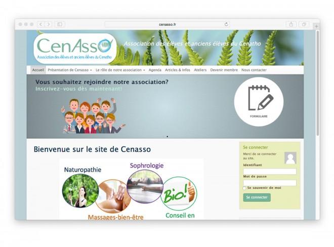 Site web CenAsso