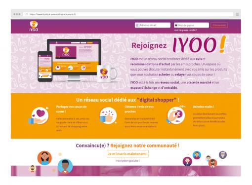 Iyoo : un réseau social dédié aux avis et recommandations d'achat